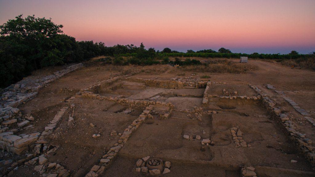 Habitat de la ville basse, Agglomération antique du Castellas, 2016, Murviel-lès-Montpellier (34)