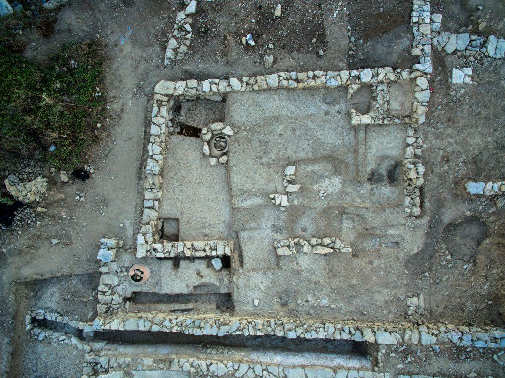 Habitat de la ville basse, Agglomération antique du Castellas, , 2017, Murviel-lès-Montpellier (34)