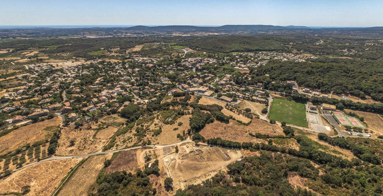Agglomération antique du Castellas, Murviel-lès-Montpellier (34)