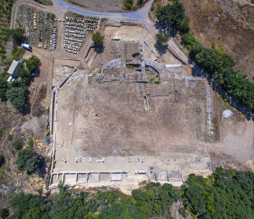 Zone Monumentale, Agglomération antique du Castellas, 2017, Murviel-lès-Montpellier (34)